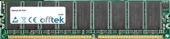GA-7DXC 1GB Module - 184 Pin 2.5v DDR266 ECC Dimm (Dual Rank)