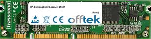 Color LaserJet 2550N 128MB Module - 100 Pin 3.3v SDRAM PC100 SoDimm