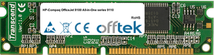 OfficeJet 9100 All-in-One series 9110 128MB Module - 100 Pin 3.3v SDRAM PC100 SoDimm