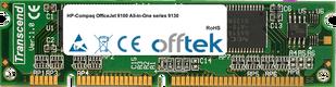 OfficeJet 9100 All-in-One series 9130 128MB Module - 100 Pin 3.3v SDRAM PC100 SoDimm