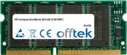 OmniBook XE3-GD (F3876WT) 128MB Module - 144 Pin 3.3v PC100 SDRAM SoDimm