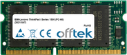ThinkPad i Series 1500 (PC-66) (2621-547) 128MB Module - 144 Pin 3.3v PC66 SDRAM SoDimm