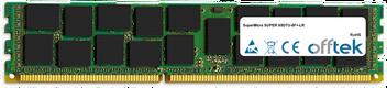 SUPER X8DTU-6F+-LR 16GB Module - 240 Pin 1.5v DDR3 PC3-8500 ECC Registered Dimm (Quad Rank)