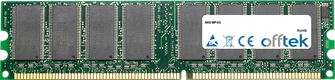 MP4G 1GB Module - 184 Pin 2.5v DDR266 Non-ECC Dimm