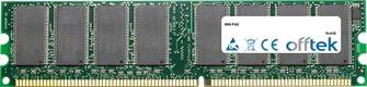 P4D 1GB Module - 184 Pin 2.5v DDR266 Non-ECC Dimm