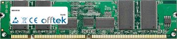 W100 256MB Module - 168 Pin 3.3v PC133 ECC Registered SDRAM Dimm