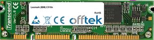 C510n 128MB Module - 100 Pin 3.3v SDRAM PC100 SoDimm