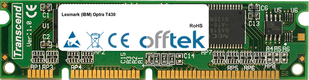 Optra T430 128MB Module - 100 Pin 3.3v SDRAM PC100 SoDimm