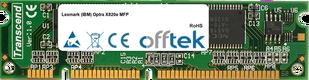 Optra X820e MFP 128MB Module - 100 Pin 3.3v SDRAM PC100 SoDimm