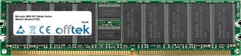 K8T Master Series (Master1,Master2-FAR) 2GB Module - 184 Pin 2.5v DDR266 ECC Registered Dimm (Dual Rank)