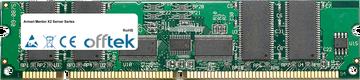Mentor X2 Server Series 1GB Kit (2x512MB Modules) - 168 Pin 3.3v PC133 ECC Registered SDRAM Dimm