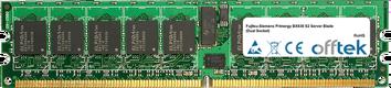 Primergy BX630 S2 Server Blade (Dual Socket) 8GB Kit (2x4GB Modules) - 240 Pin 1.8v DDR2 PC2-5300 ECC Registered Dimm (Dual Rank)