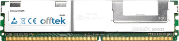 E-9425R 4GB Kit (2x2GB Modules) - 240 Pin 1.8v DDR2 PC2-5300 ECC FB Dimm