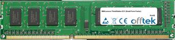 ThinkStation E31 (Small Form Factor) 8GB Module - 240 Pin 1.5v DDR3 PC3-10600 Non-ECC Dimm