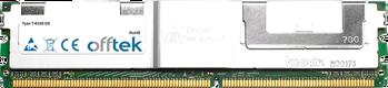 T-633G DX 4GB Kit (2x2GB Modules) - 240 Pin 1.8v DDR2 PC2-5300 ECC FB Dimm