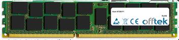 AT350 F1 16GB Module - 240 Pin 1.5v DDR3 PC3-8500 ECC Registered Dimm (Quad Rank)