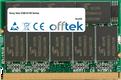 Vaio VGN-S150 Series 512MB Module - 172 Pin 2.5v DDR333 Non-ECC MicroDimm