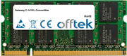 C-141XL Convertible 2GB Module - 200 Pin 1.8v DDR2 PC2-5300 SoDimm