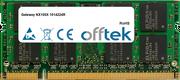 NX100X 1014224R 1GB Module - 200 Pin 1.8v DDR2 PC2-4200 SoDimm