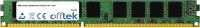 BladeCenter HS22V (7871-xxx) 16GB Module - 240 Pin 1.5v DDR3 PC3-10664 ECC Registered Dimm (VLP)
