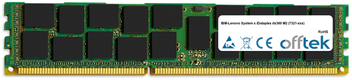 System x iDataplex dx360 M2 (7321-xxx) 8GB Module - 240 Pin 1.5v DDR3 PC3-8500 ECC Registered Dimm (Quad Rank)