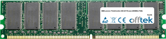 ThinkCentre A50 (8178-xxx) (800MHz FSB) 1GB Module - 184 Pin 2.6v DDR400 Non-ECC Dimm