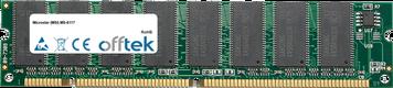 MS-6117 256MB Module - 168 Pin 3.3v PC100 SDRAM Dimm