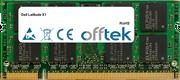 Latitude X1 1GB Module - 200 Pin 1.8v DDR2 PC2-4200 SoDimm