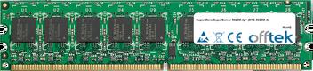 SuperServer 5025M-4p+ (SYS-5025M-4) 2GB Module - 240 Pin 1.8v DDR2 PC2-5300 ECC Dimm (Dual Rank)