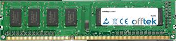 SX2851 4GB Module - 240 Pin 1.5v DDR3 PC3-10664 Non-ECC Dimm