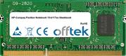 Pavilion Notebook 15-b117ss Sleekbook 8GB Module - 204 Pin 1.5v DDR3 PC3-12800 SoDimm