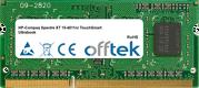 Spectre XT 15-4011nr TouchSmart Ultrabook 8GB Module - 204 Pin 1.5v DDR3 PC3-12800 SoDimm