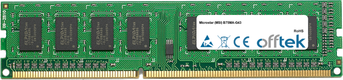 B75MA-G43 8GB Module - 240 Pin 1.5v DDR3 PC3-10600 Non-ECC Dimm
