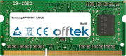 NP900X4C-A04US 4GB Module - 204 Pin 1.5v DDR3 PC3-10600 SoDimm