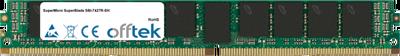 SuperBlade SBI-7427R-SH 8GB Module - 288 Pin 1.2v DDR4 PC4-19200 ECC Registered Dimm (VLP)