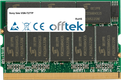 Vaio VGN-T27TP 512MB Module - 172 Pin 2.5v DDR333 Non-ECC MicroDimm