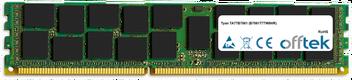 TA77B7061 (B7061T77W8HR) 16GB Module - 240 Pin 1.5v DDR3 PC3-8500 ECC Registered Dimm (Quad Rank)
