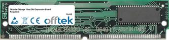 Okipage 10ex (Oki Expansion Board Required) 32MB Module - 72 Pin 5v FPM Non-Parity Simm