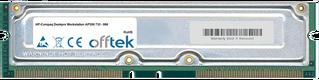 Deskpro Workstation AP550 733 - 866 1GB Kit (2x512MB Modules) - 184 Pin 2.5v 800Mhz ECC RDRAM Rimm