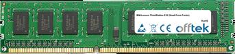 ThinkStation E32 (Small Form Factor) 4GB Module - 240 Pin 1.5v DDR3 PC3-10664 Non-ECC Dimm