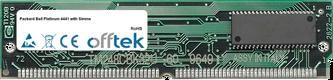 Platinum 4441 with Simms 64MB Kit (2x32MB Modules) - 72 Pin 5v EDO Non-Parity Simm