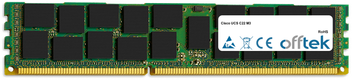 UCS C22 M3 32GB Module - 240 Pin 1.5v DDR3 PC3-10600 ECC Registered Dimm (Quad Rank)