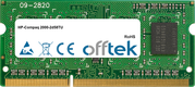 2000-2d58TU 4GB Module - 204 Pin 1.5v DDR3 PC3-12800 SoDimm