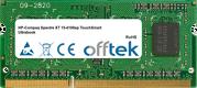Spectre XT 15-4100ep TouchSmart Ultrabook 8GB Module - 204 Pin 1.5v DDR3 PC3-12800 SoDimm