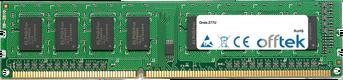 Z77U 8GB Module - 240 Pin 1.5v DDR3 PC3-10600 Non-ECC Dimm