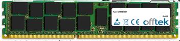 GA80B7061 2GB Module - 240 Pin 1.5v DDR3 PC3-10664 ECC Registered Dimm (Dual Rank)