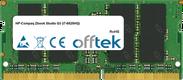 Zbook Studio G3 (i7-6820HQ) 8GB Module - 260 Pin 1.2v DDR4 PC4-17000 SoDimm