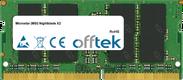 Nightblade X2 16GB Module - 260 Pin 1.2v DDR4 PC4-17000 SoDimm