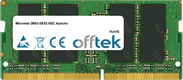 GE62 6QC Apache 16GB Module - 260 Pin 1.2v DDR4 PC4-17000 SoDimm