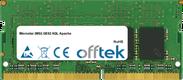 GE62 6QL Apache 16GB Module - 260 Pin 1.2v DDR4 PC4-17000 SoDimm